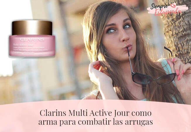 Clarins Multi Active Jour como arma para combatir las arrugas