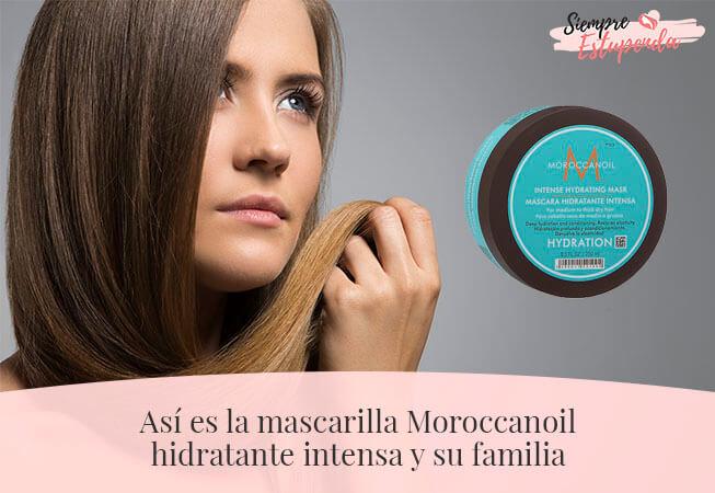 Así es la mascarilla Moroccanoil hidratante intensa y su familia