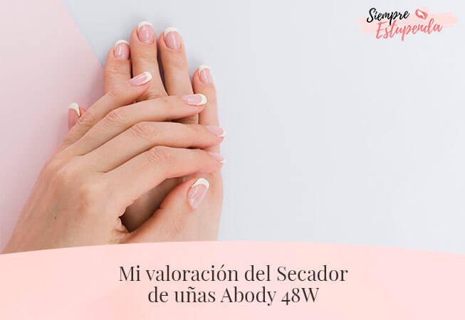 Mi valoración del Secador de uñas Abody 48W