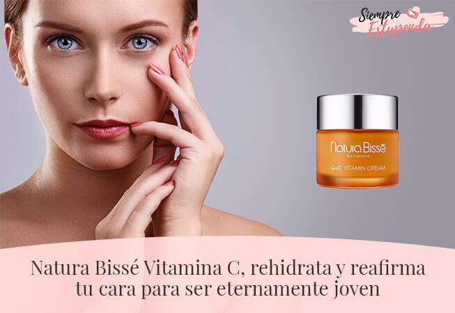 Natura Bissé Vitamina C, rehidrata y reafirma tu cara para ser eternamente joven