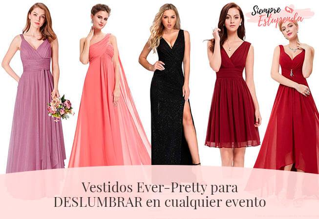 Vestidos Ever-Pretty para DESLUMBRAR en cualquier evento